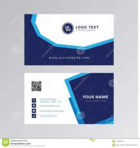 Professional Modern Blue Color Business Card Invitation Card pertaining to Office Max Business Card Template