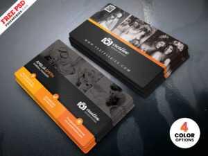 Professional Photographer Business Card Design Psd with regard to Photography Business Card Template Photoshop