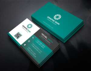 Psd Business Card Template On Behance within Calling Card Psd Template