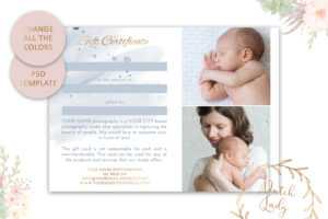 Psd Photography Gift Certificate Card Template 36 – Vsual with Photoshoot Gift Certificate Template