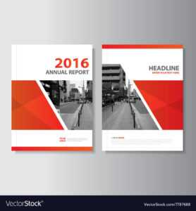 Red Annual Report Leaflet Brochure Flyer in Engineering Brochure Templates Free Download