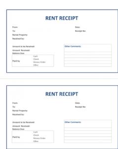 Rent Receipt Template – Google Docs Templates regarding Google Docs Note Card Template