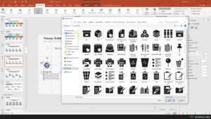 Replace Default Icon In Powerpoint Template (1/3) – Warna Slides with regard to Replace Powerpoint Template