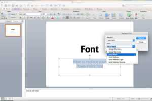 Replacing All The Fonts In My Presentation At One Time regarding Powerpoint Replace Template