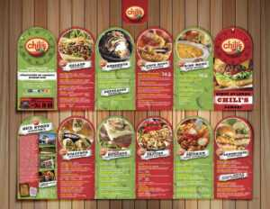 Restaurant Brochure Design Examples For Inspiration within Zoo Brochure Template