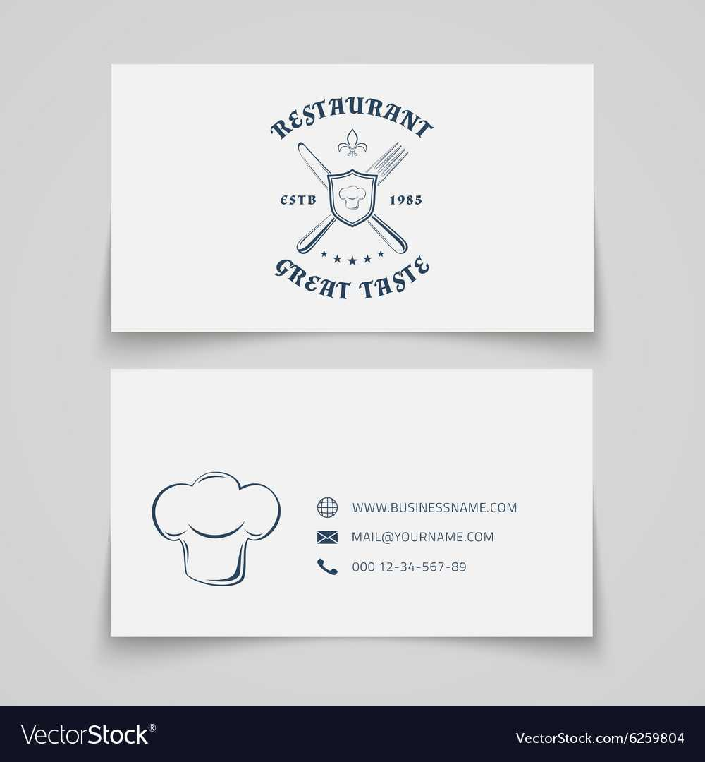 Restaurant Business Card Template With Regard To Frequent Diner Card Template