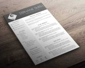 Resume + Cover Letter + Business Card | Modern Cv Template | Word &  Powerpoint Format | Instant Download | Professional Design | Easy-To-Use with Word 2013 Business Card Template