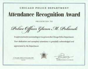 Ribbon Awards | Chicagocop pertaining to Life Saving Award Certificate Template