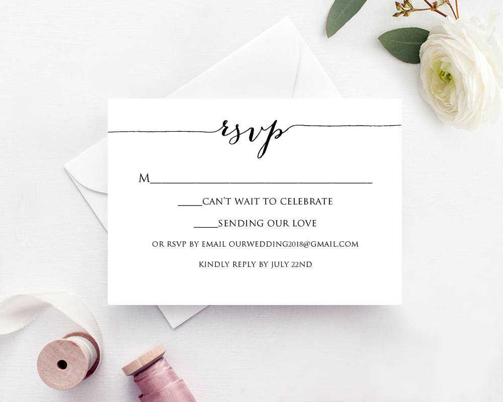 Rsvp Card Printable Template Inside Celebrate It Templates Place Cards
