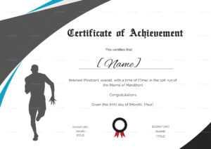 Running Certificate Template – Carlynstudio inside Running Certificates Templates Free