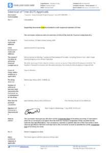 Sample Letter Of Extension Of Time For Construction (Eot Letter) intended for Practical Completion Certificate Template Jct