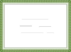 Sample Training Completion Certificate Template Free Download with Blank Certificate Templates Free Download