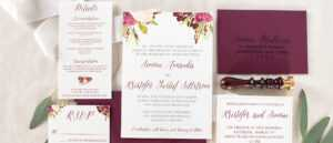 Samples Of Wedding Invitations – Oflu.bntl with regard to Sample Wedding Invitation Cards Templates