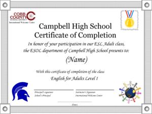 School Certificate Template Doc | Sample Resume Template regarding Certificate Of Participation Template Doc