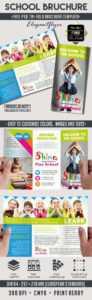 School – Free Psd Tri-Fold Psd Brochure Template regarding Play School Brochure Templates