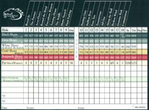 Scorecard – Windy Knoll Golf for Golf Score Cards Template