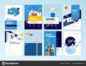 Set Brochure Design Templates Subject Education School inside School Brochure Design Templates