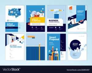 Set Of Brochure Design Templates Of Education pertaining to Brochure Design Templates For Education