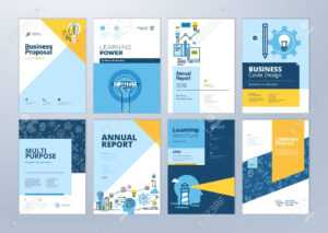 Set Of Brochure Design Templates On The Subject Of Education,.. within School Brochure Design Templates