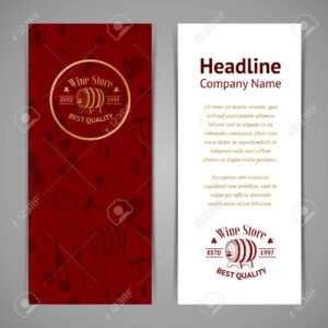 Set Of Business Cards. Templates For Wine Company intended for Company Business Cards Templates