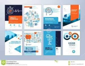 Set Of Medical Brochure, Annual Report, Flyer Design regarding Pharmacy Brochure Template Free