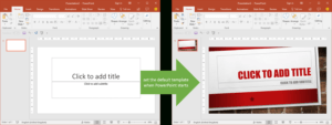 Set The Default Template When Powerpoint Starts | Youpresent inside Powerpoint Replace Template