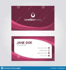 Shades Of Violet Elegant Modern Business Card Design within Modern Business Card Design Templates