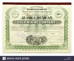 Share Certificate Stock Photos & Share Certificate Stock throughout Corporate Bond Certificate Template
