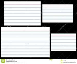Size Of Notecard – Oflu.bntl intended for 3X5 Blank Index Card Template