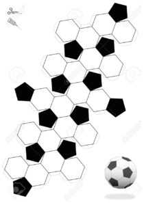 Soccer Ball Template – Tomope.zaribanks.co within Soccer Thank You Card Template