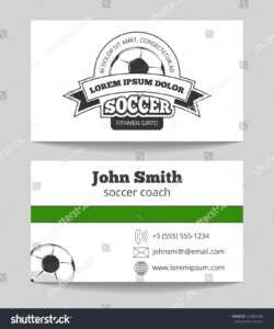 Soccer Card Template – Ceyran.the1920Gallery regarding Soccer Report Card Template