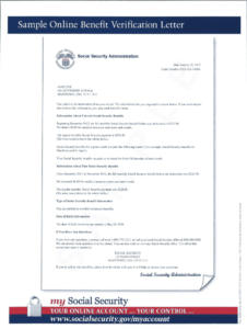Social Security Award Letter Sample Pdf – Fill Online with Social Security Card Template Pdf