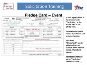 Solicitation Training – Ppt Download pertaining to Fundraising Pledge Card Template