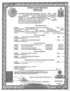 Spanish Birth Certificate Translation | Burg Translations with Mexican Birth Certificate Translation Template