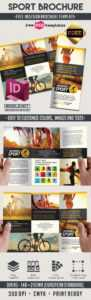 Sport – Free Indd Tri-Fold Brochure Template | Free Psd inside Brochure Template Indesign Free Download