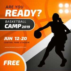Sports Poster Free Vector Art – (2,033 Free Downloads) regarding Basketball Camp Brochure Template