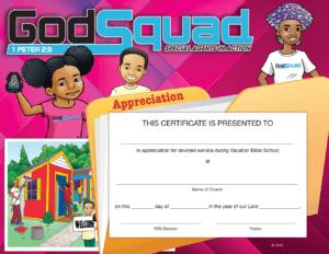 Ssaacc26 | Sunday School Awards And Certificate Clipart Big regarding Vbs Certificate Template