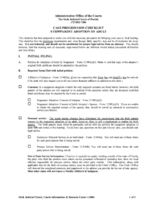 Stepparent Adoption Forms Arkansas – Fill Online, Printable intended for Child Adoption Certificate Template