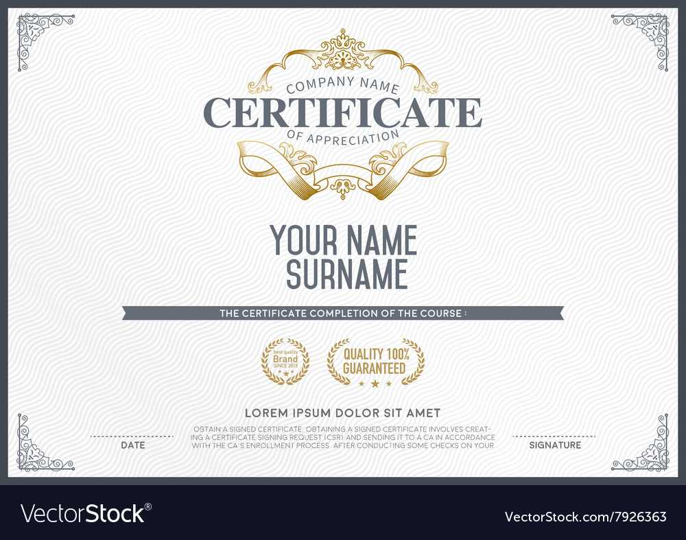 Stock Certificate Template Intended For Free Stock Certificate Template Download