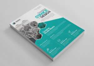 Stunning Professional Business Flyer Design Template 001520 throughout Professional Brochure Design Templates