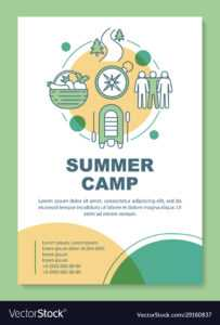 Summer Camp Country Holiday Brochure Template regarding Country Brochure Template