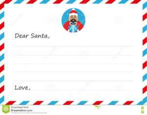 Template Envelope New Year`s Or Christmas Letter To Cute inside Christmas Note Card Templates