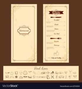 Template For Menu Card with regard to Frequent Diner Card Template