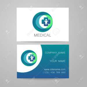 Template Of Medical Business Cards. throughout Medical Business Cards Templates Free