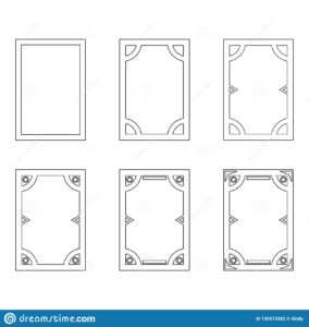 Template Of User Interface For Mobile Applications, Cards with regard to Template For Game Cards