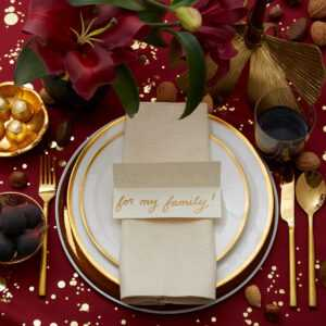 Thankful Table Card | Darcy Miller Designs intended for Place Card Setting Template