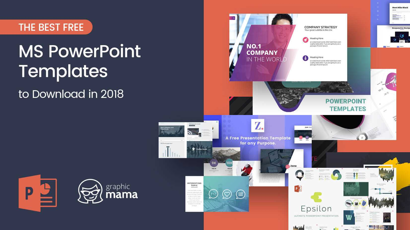 The Best Free Powerpoint Templates To Download In 2018 With Powerpoint Sample Templates Free Download