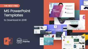 The Best Free Powerpoint Templates To Download In 2018 with regard to Powerpoint Slides Design Templates For Free