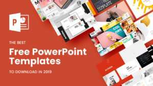 The Best Free Powerpoint Templates To Download In 2019 inside Fun Powerpoint Templates Free Download