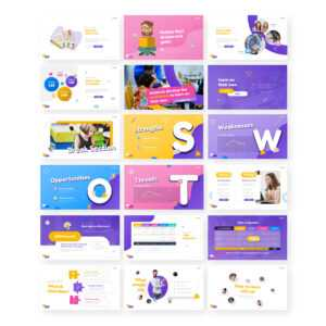 Thinkids – Fun Games & Education Powerpoint Template for Powerpoint Template Games For Education